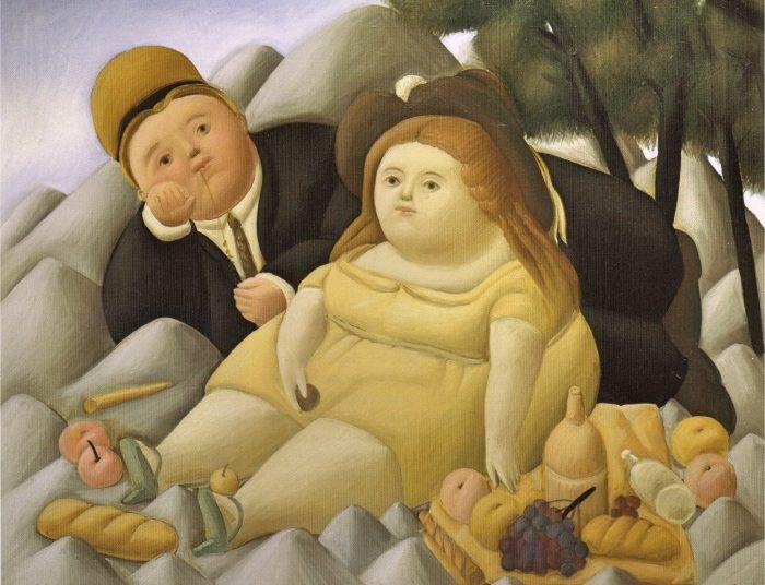 Botero a roma mostra al vittoriano le virtu in tavola - Le virtu in tavola ...